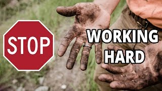 STOP WORKING HARD!⛔ Do ❗THIS❗ instead