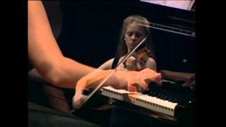 Julia Fischer, Milana Chernyavska - Schubert Sonate A -Dur D. 574, für Violine und Klavier