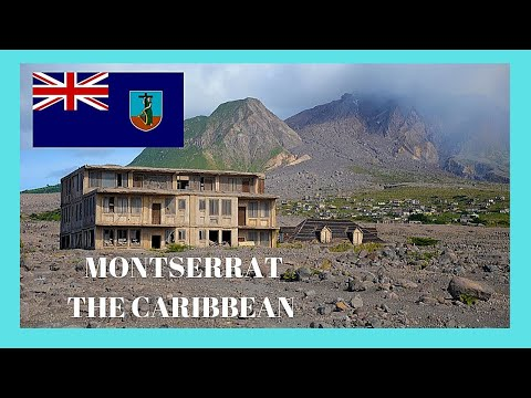 MONTSERRAT, its incredible DESTRUCTION  by VOLCANIC EXPLOSIONS, a tour (Caribbean)