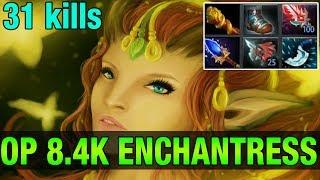 OP 8.4K ENCHANTRESS - Chessie Ranked Gameplay - Dota 2