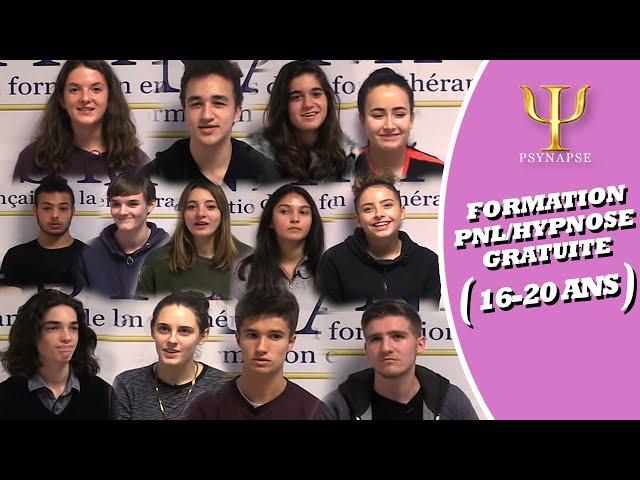 FORMATIONS PNL -  HYPNOSE JEUNES ADULTES