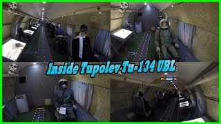 Exploring Soviet Special Plane Inside Tupolev Tu-134 UBL Review. Ukrainian Museum of Aviation