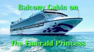 Balcony Cabin L243 on the Emerald Princess