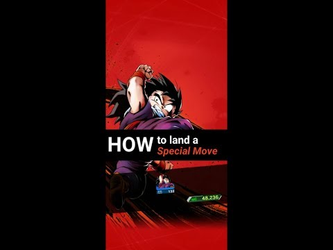 DB Legends - How To Land A Special Move?