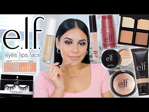 FULL FACE OF ELF COSMETICS BEST SELLERS 2020