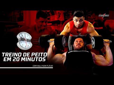 COMO TREINAR PEITORAL NO LIMITE EM APENAS 20 MINUTOS