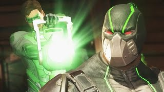 Injustice 2 - Green Lantern Vs Bane & Aquaman Vs Supergirl