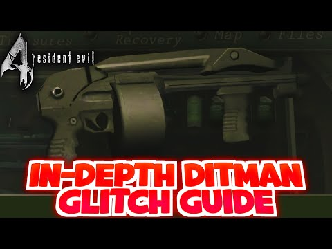 Resident Evil 4 Speedrun Glitches: The Ditman Glitch