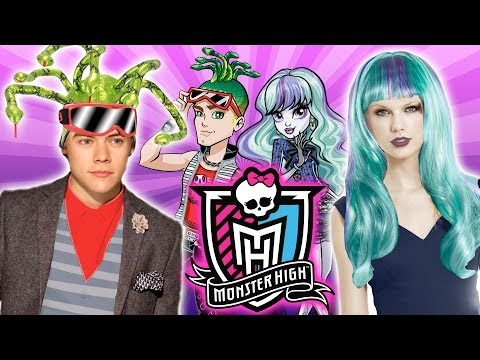 Monster High Dress Up for Celebs! Harry Styles & Taylor Swift Get Ghoulish!