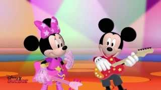 Mickey Mouse Clubhouse Rocks | Mickey and Minnie's Song | Disney Junior UK