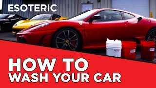 How to Wash your Car the RIGHT way - ESOTERIC Car Care