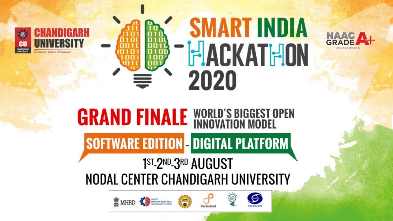 Smart India Hackathon Virtual Grand Finale | Chandigarh University