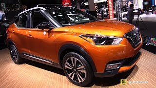 2019 Nissan Kicks Sr - Exterior And Interior Walkaround - Detroit Auto Show 2019