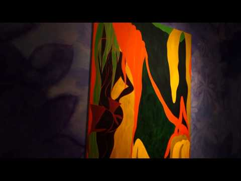 "Chris Ofili ""Night and Day"" at THE NEW MUSEUM"