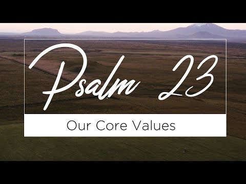 Biblical Authority (Psalm 23 - Week 1) : ALIVE Wesleyan Church