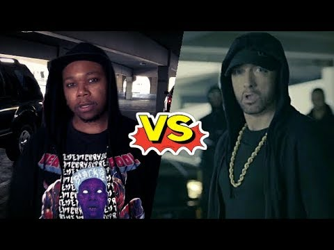 Some Black Guy DESTROYS Eminem (Response to Trump Diss)