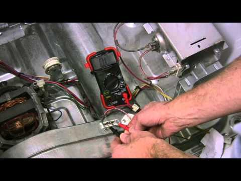 kenmore-he2/he3-dryer-won't-start,-checking-thermal-fuse,-thermistor
