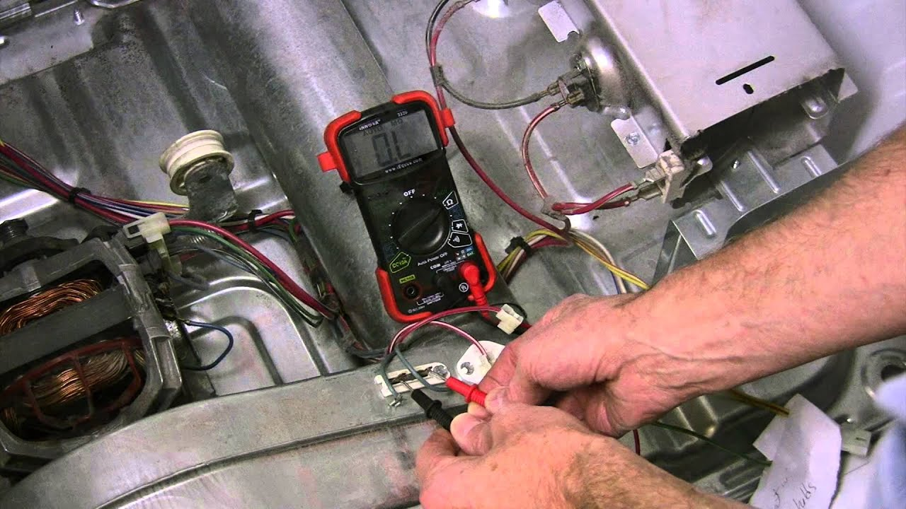small resolution of kenmore he2 he3 dryer won t start checking thermal fuse thermistor youtube