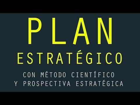 Plan Estrategico Innovador - Metodo cientifico - Prospectiva Estrategica