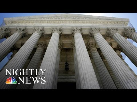 SCOTUS To Hear Dispute Over Separation Of Church And State   NBC Nightly News