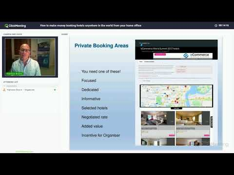 Webinar: How to make money booking hotels anywhere in the world from your home office