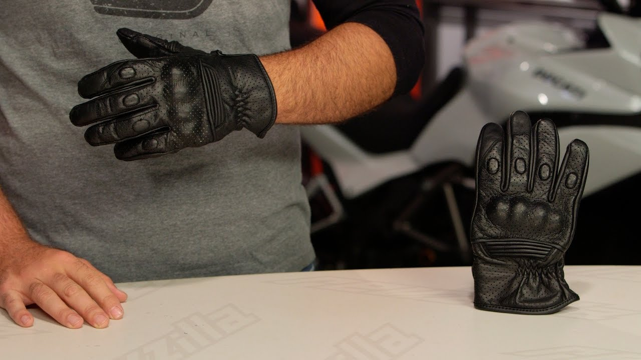 Speed And Strength Power And The Glory Vented Leather//Textile Motorcycle Glove