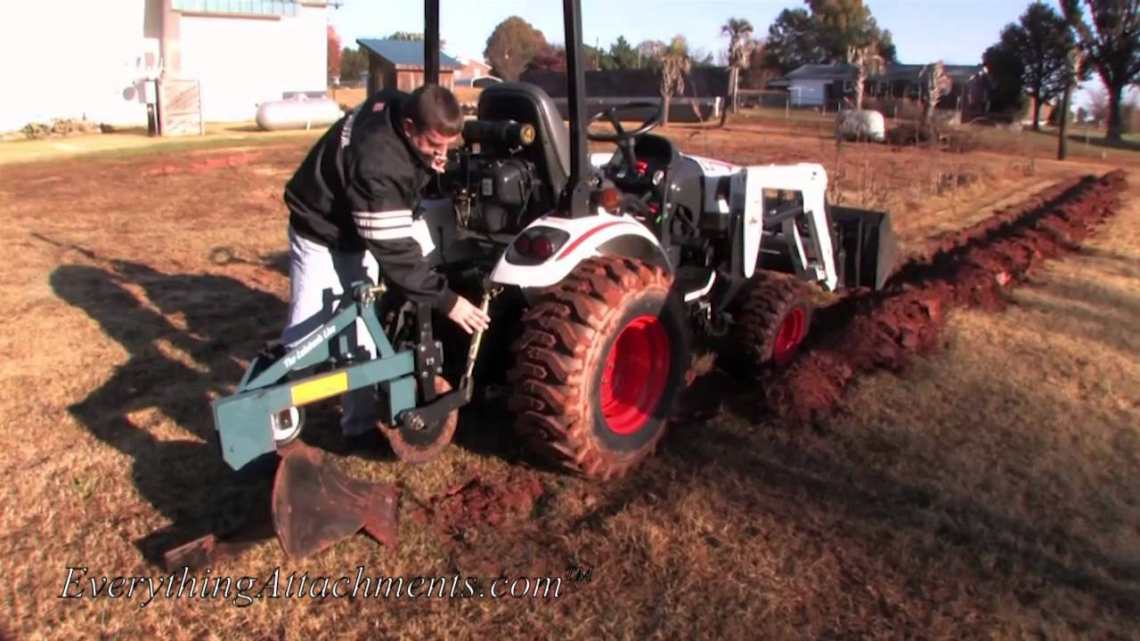 How To Plow Your Garden With A Compact Tractor