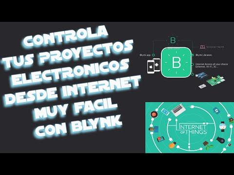 Conecta Arduino A Internet Con Blynk |Muy Fácil IOT (Internet De Las Cosas)