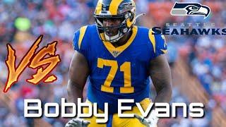 Bobby Evans Vs Seahawks (Jadeveon Clowney) Film Breakdown