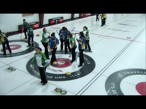 2017 Travelers Curling Club Championship - Draw 12 - NL vs NB Women