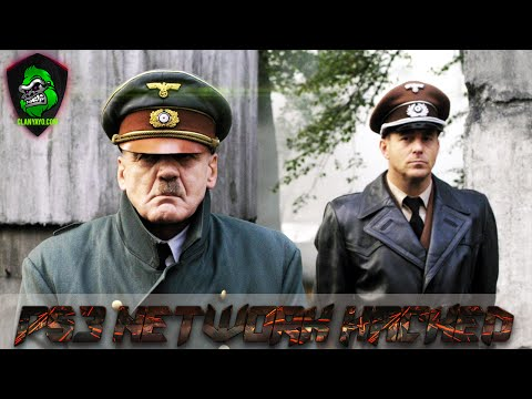 PS3 Network 26/04/2011 Hacked Wiki Leaks Hitler takes a fit!
