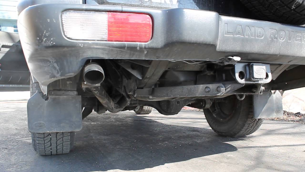 hight resolution of 2003 land rover discovery 2 magnaflow catalytic converters stock muffler resonator delete