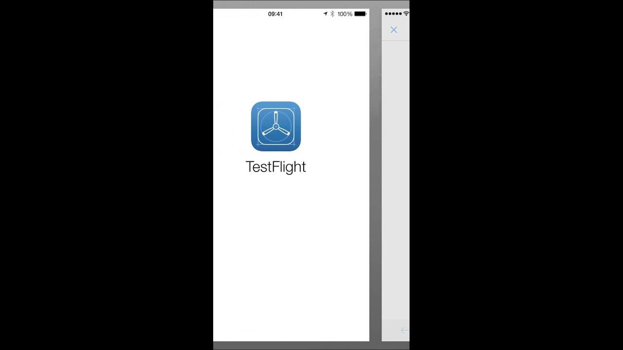 Install TestFlight and SYBOD via email