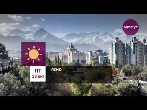 Погода в Алматы с 14 по 20 октября 2019