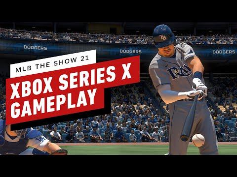 Геймплей MLB The Show 21 на Xbox Series X в 4K
