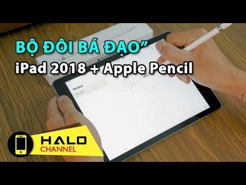"""[Haloshop] Apple Pencil """"bá đạo"""" như thế nào khi kết hợp với iPad 2018?"""