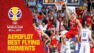 Semih Erden lifts off  - Aeroflot Best Flying Moments - FIBA Basketball World Cup 2010