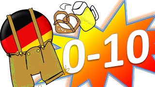 COUNTING TO TEN in German 0-10