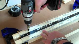 Rockler Shutter Building System - How To Use