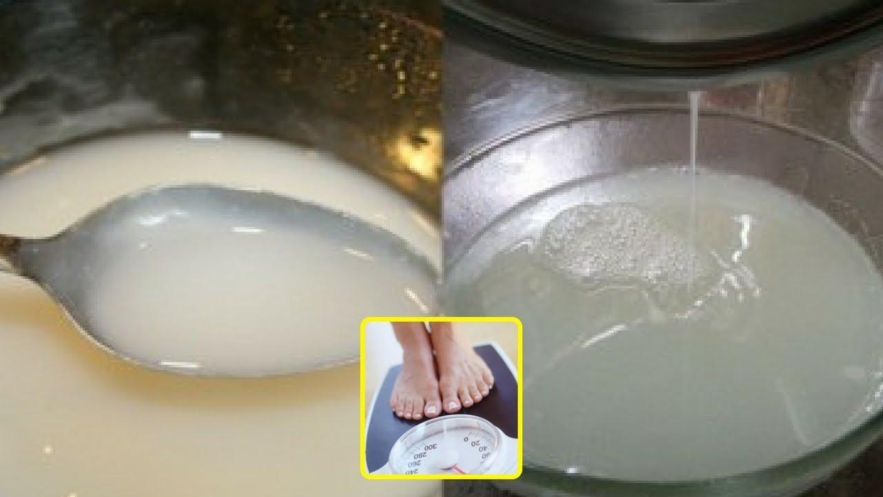 Chắt lấy nước cơm để uống theo cách này, thánh gầy cũng tăng 5kg/tuần.