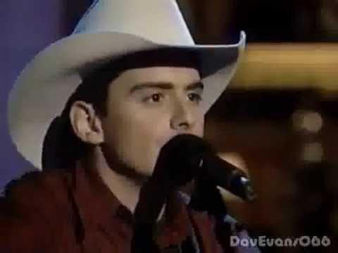 Brad Paisley - He Didn't Have To Be - Live (1999)