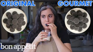 Pastry Chef Attempts To Make Gourmet Oreos | Gourmet Makes | Bon Appétit