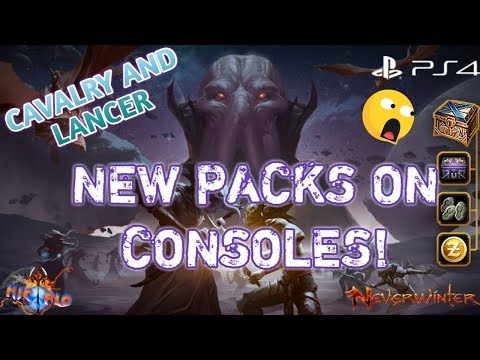 NEVERWINTER NEW PACKS| ARE THEY WORTH IT? PS4 XBOX ONE