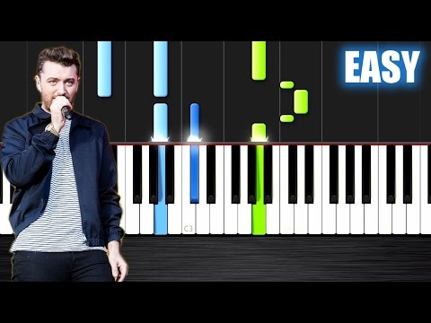 Sam Smith  Im Not The Only One  EASY Piano Tutorial  PlutaX  Synthesia