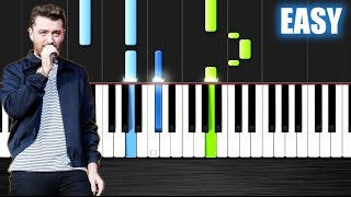 Cover images Sam Smith - I'm Not The Only One - EASY Piano Tutorial by PlutaX - Synthesia