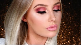 ROSE GOLD SMOKEY EYE / First Impressions | Lauren Curtis