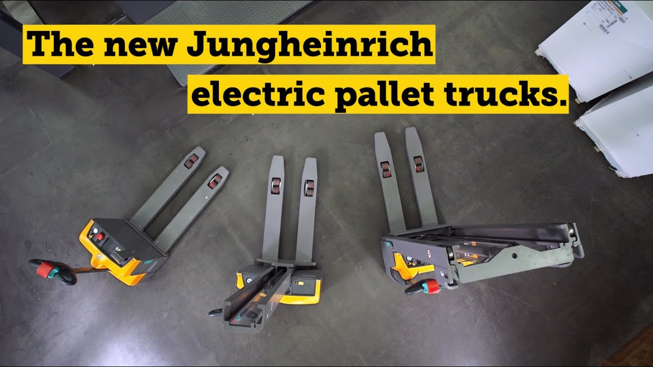 the new jungheinrich electric pallet trucks your. Black Bedroom Furniture Sets. Home Design Ideas
