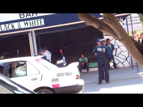 Hilarious Motorcycle Check Point - Iguala Mexico
