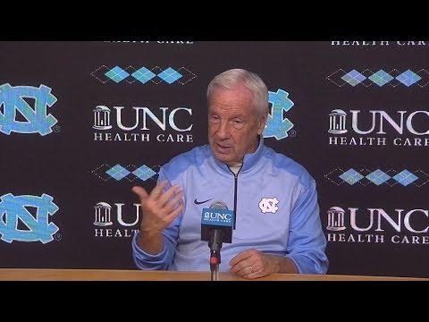 UNC Men's Basketball: Roy Williams pre-Notre Dame Press Conference