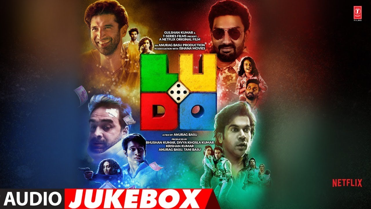 Download Full Album: LUDO Jukebox | Pritam | Abhishek B, Aditya K,  Rajkummar R, Pankaj T, Fatima S, Sanya M
